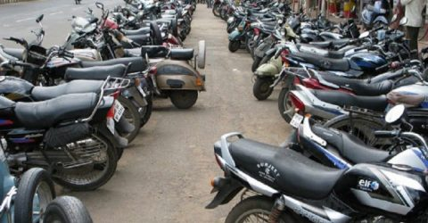 2,571 cases lodged against motorcycles in capital