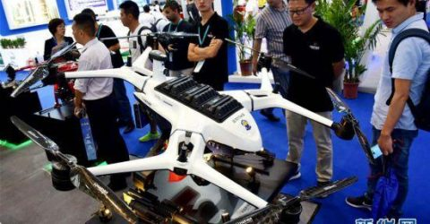 Int'l drone expo held in Shenzhen