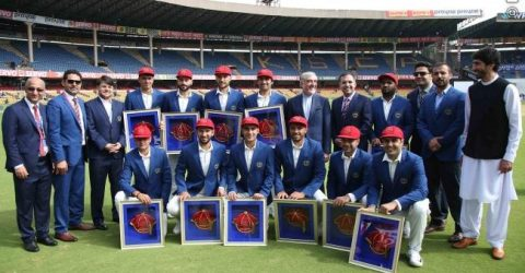 'Very proud' – Afghanistan make history with first Test