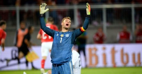 Neuer is in Germany World Cup squad, Sane left out