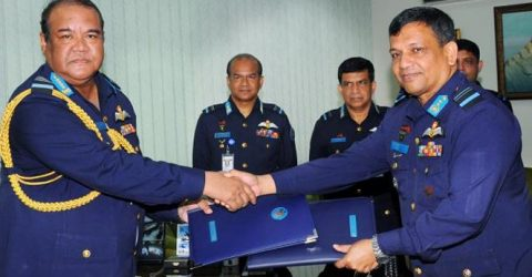 New Air Chief takes over BAF command