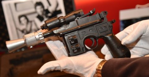 Han Solo's 'Return of the Jedi' blaster sells for $550,000