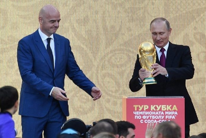 Putin welcomes teams and supporters to World Cup
