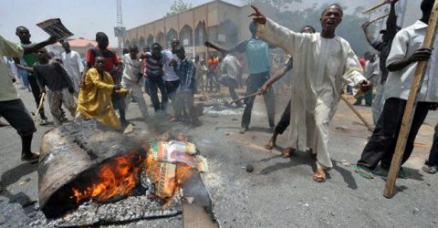 Over 200 killed in weekend violence in central Nigeria: governor