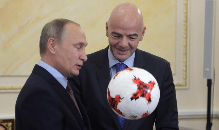 Putin to attend 2018 World Cup's opening match