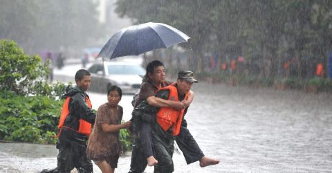 185,000 people affected by heavy rain in Yunnan