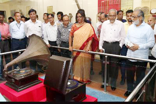 Renovated musical instrument gallery opened