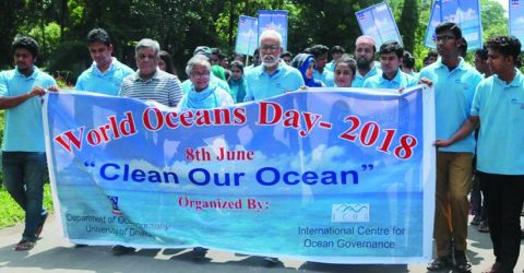 DU observes 'World Oceans Day-2018'