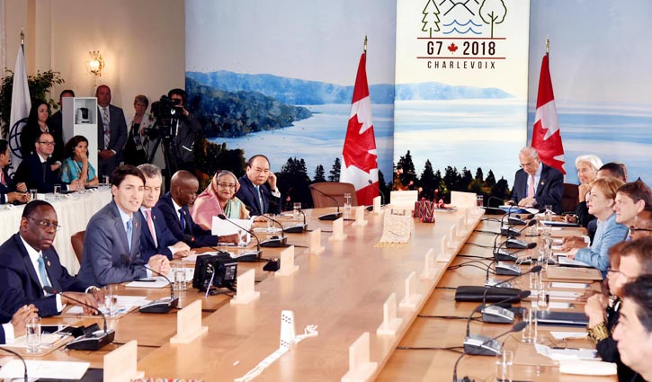 PM for partnership with G7 nations on blue economy