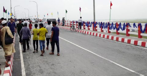 PM opens second Dharala Bridge in Kurigram