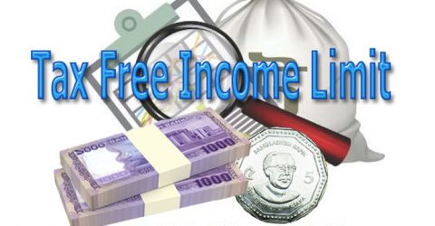Tax-free income limit to remain unchanged