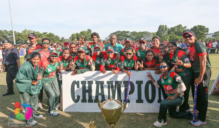 Bangladesh beat India to clinch Asia Cup crown