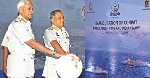 Bangladeshi, Indian navies launch joint maritime patrol