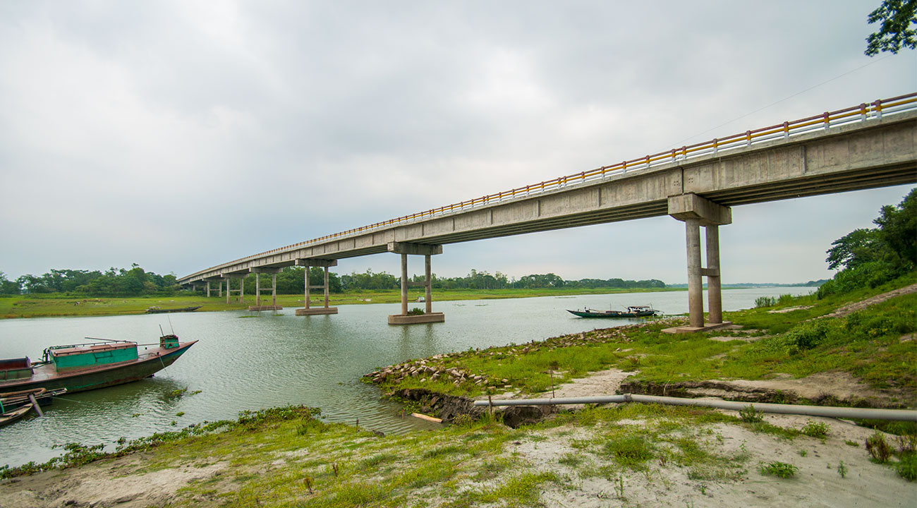 Construction work of 122 rural bridges completed in Mymensingh