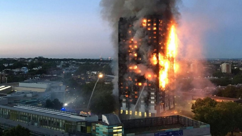 Britain mourns victims of Grenfell fire tragedy