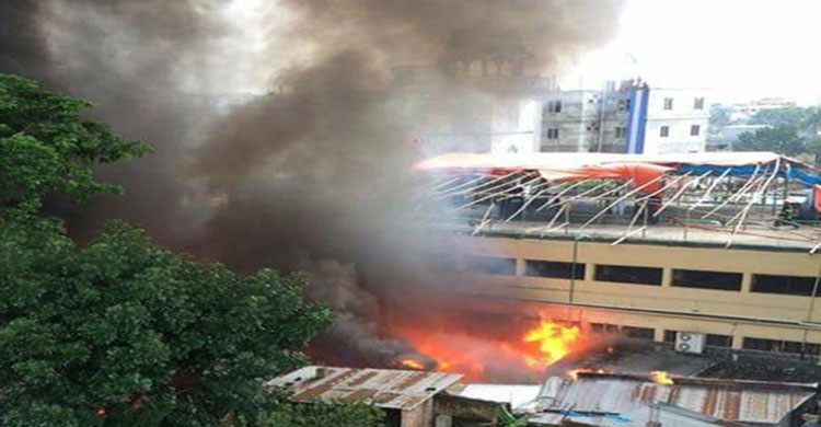 Over 100 shops gutted in M'singh hawkers' market fire
