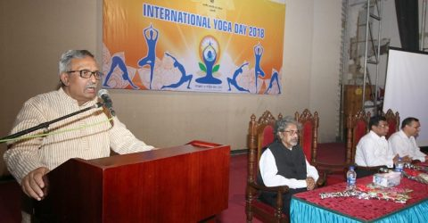 Yoga practice essential for physical and mental fitness