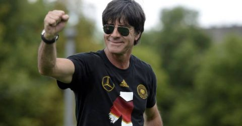 German coach Loew pins hopes on golden generation