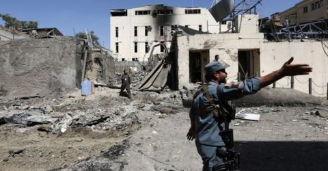 12 dead, 31 wounded in Kabul govt building attack: health ministry