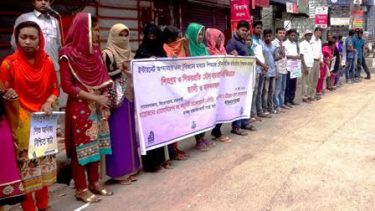 Int'l Child Labour Prevention Day observed in Rajshahi