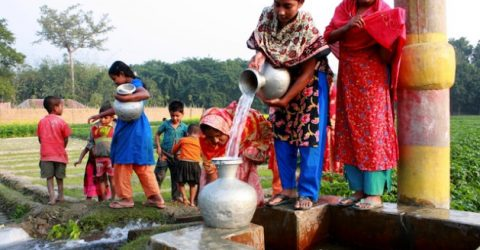 Barind drought-hit families happy with safe water supply