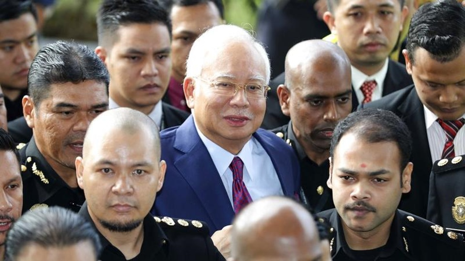 Former Malaysian PM Najib pleads not guilty, granted bail