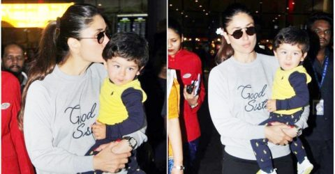 Kareena Kapoor, Taimur at airport, Janhvi Kapoor with family at Dhadak screening