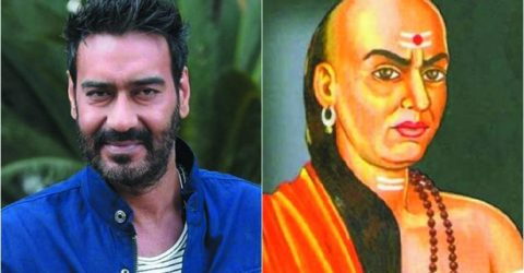 Ajay Devgn all set to play Chanakya