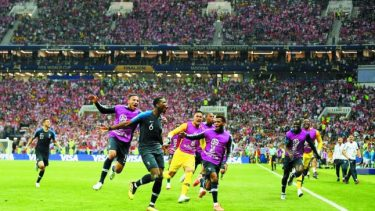 World Cup 2018: Jubilant France become world champions again