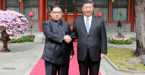 N. Korea's Kim asked China's Xi to help lift sanctions: report