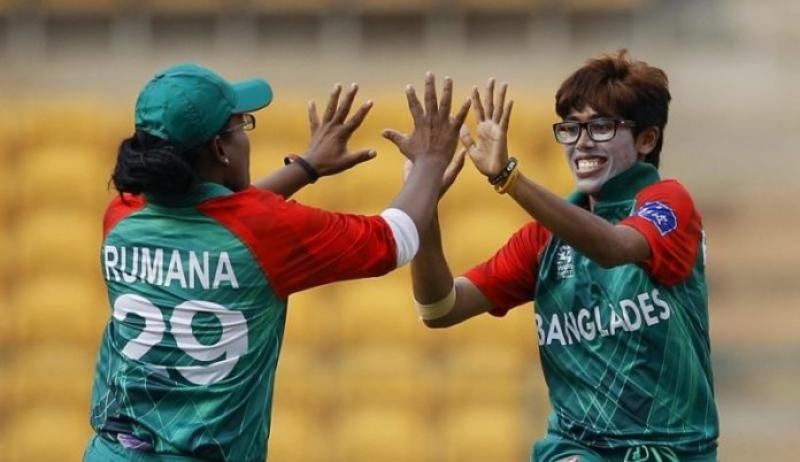 BD Women thrash UAE by eight wickets