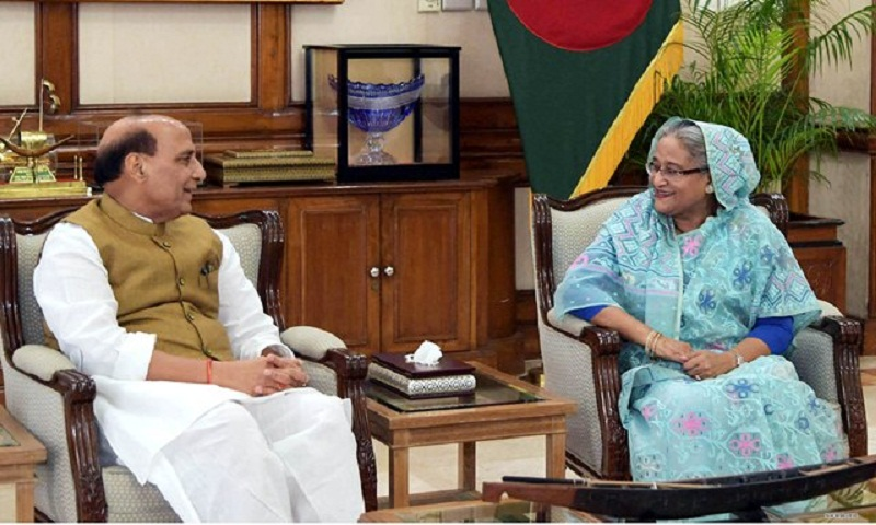 Indian Home Minister calls on PM