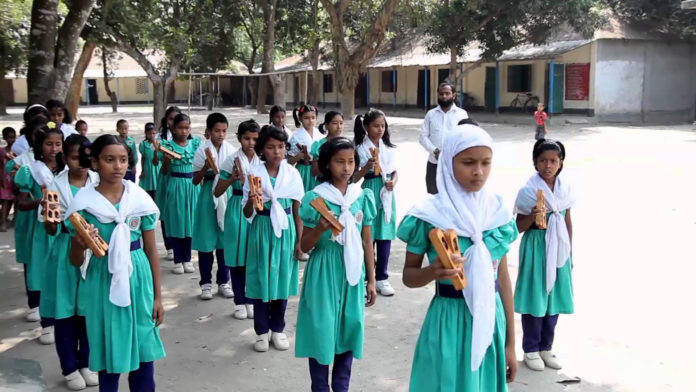 Around 100% enrollment in Rajshahi primary education