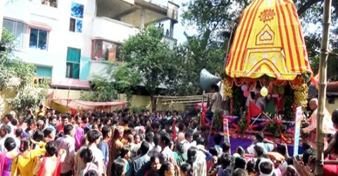 Sanaton community celebrates 'Ratha Yatra' in Rangpur