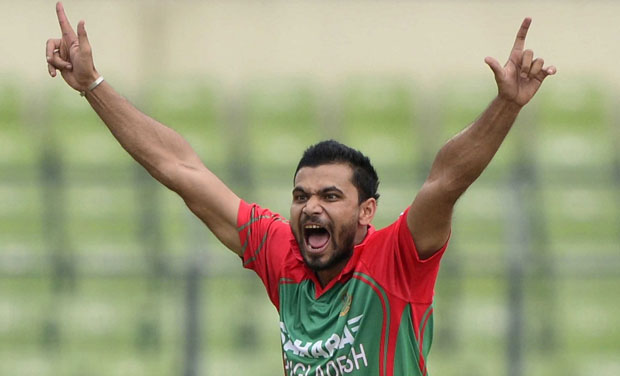 Mashrafe leaves for WI midnight to join ODI squad