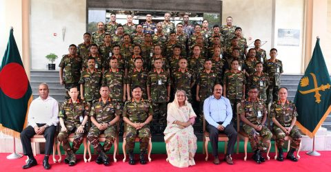 PM asks army to entrust efficient, patriotic officers with higher commands
