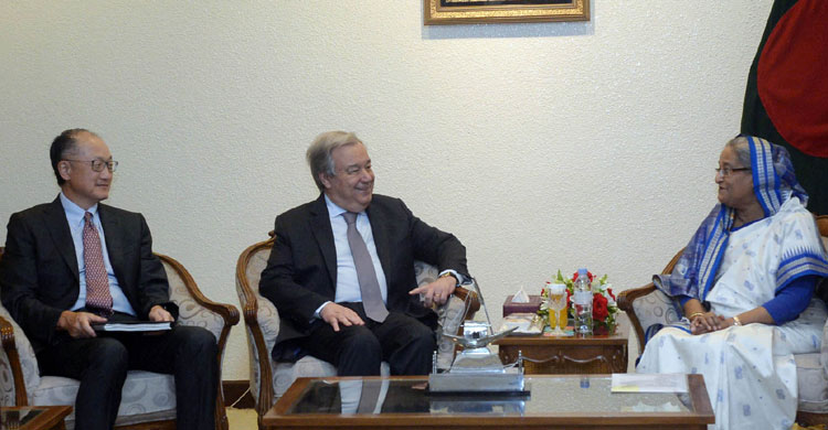 Guterres, Kim assure continued support on Rohingya issue