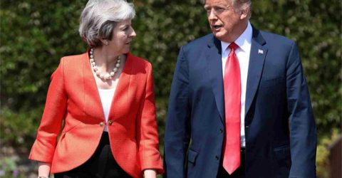 UK, US agree to pursue 'ambitious' trade deal after Brexit: May