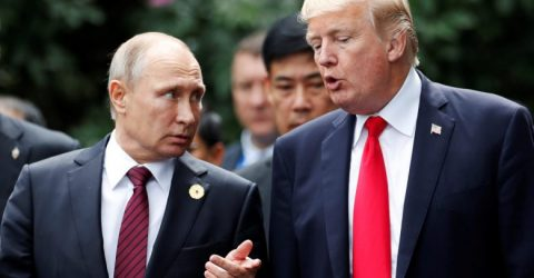 Trump hails 'very good start' with Putin at first summit
