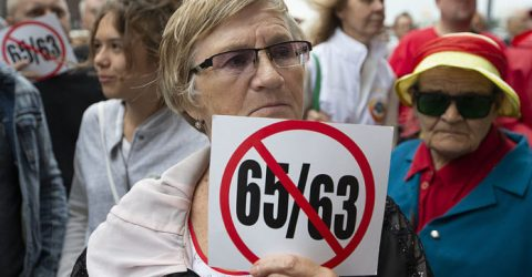 Putin softens controversial pension reforms