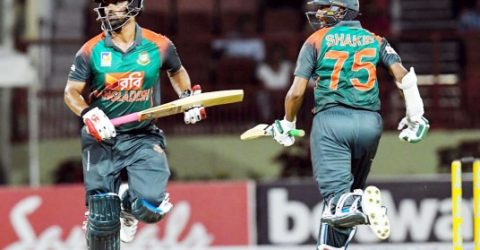 Shakib, Tamim moves up ranking up T20I series victory