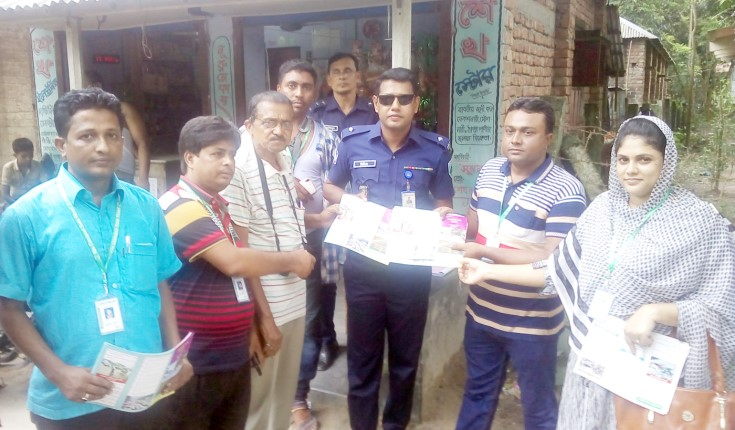 Nischa collaborates with Raninagar police on Traffic Week campaign