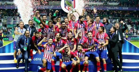 Atletico come back to beat Real Madrid in Super Cup