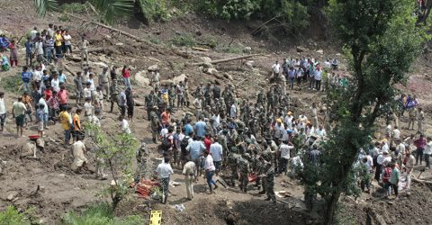 Monsoon, landslides kill 20 in southern India