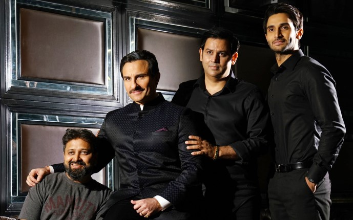 Did saif ali have a heated argument with nikkhil over 'baazaar' release?