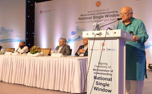 NBR inks deals with 38 ministries, agencies for nat'l single window