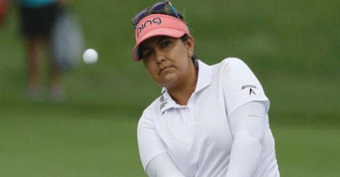 Salas surges to LPGA Indy lead with record-equalling 62