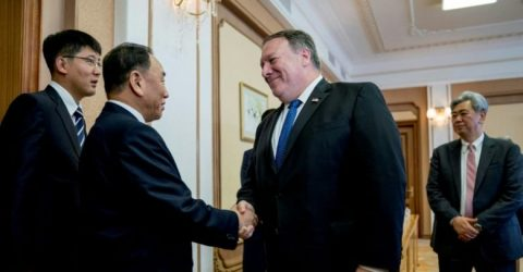 Pompeo calls for 'maintaining diplomatic and economic pressure' on N. Korea