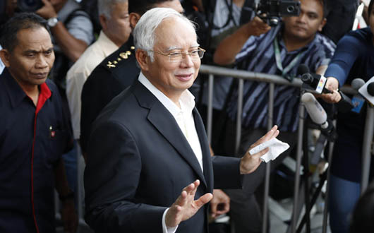 Malaysian ex-PM Najib hit with new charges over graft scandal