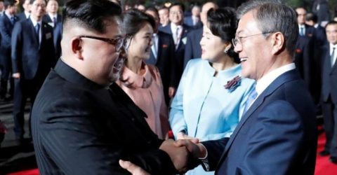 S.Korean president says to deepen trust with DPRK in Pyongyang summit